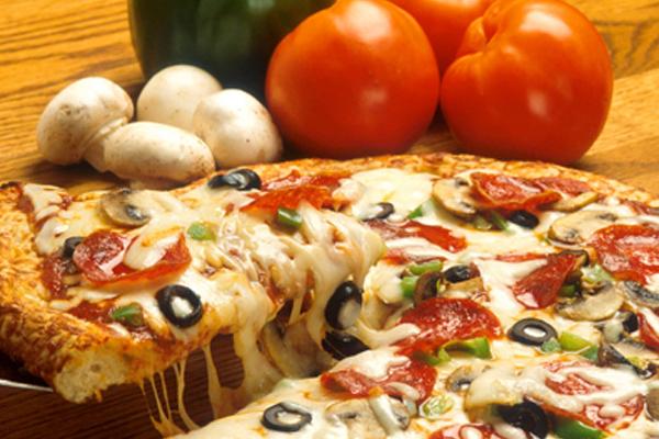 pizza correct size