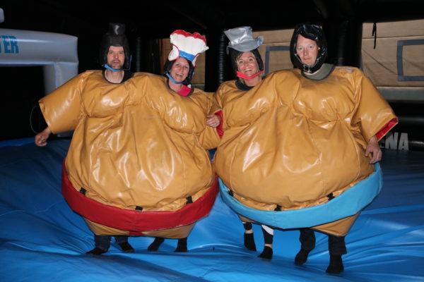 Double sumo 4 personer